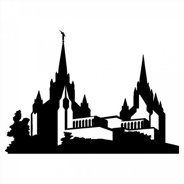 lds temple silhouette clipart best my secret wedding pinterest rh pinterest com lds temple clipart images lds clipart temple