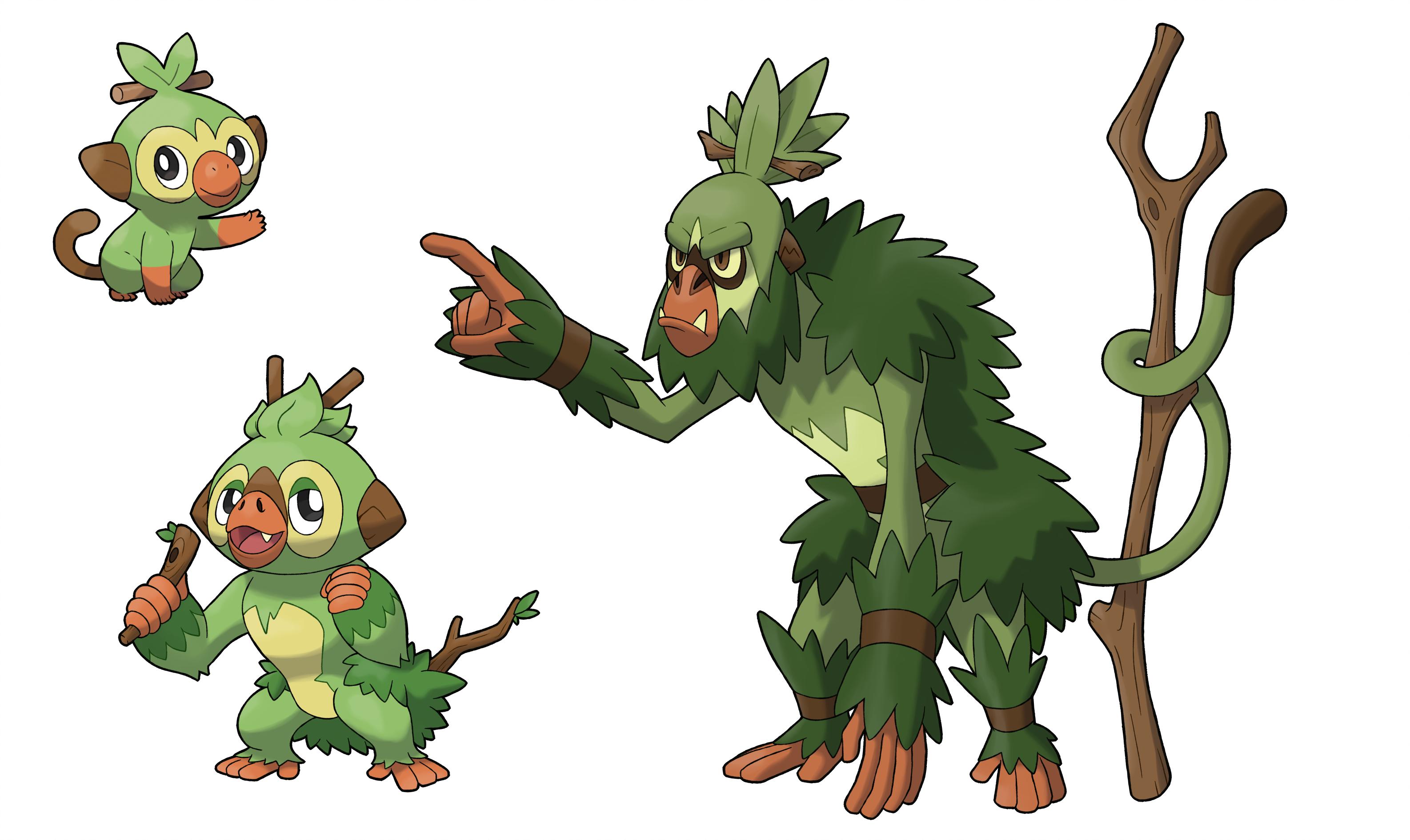 Image result for grookey evolutions