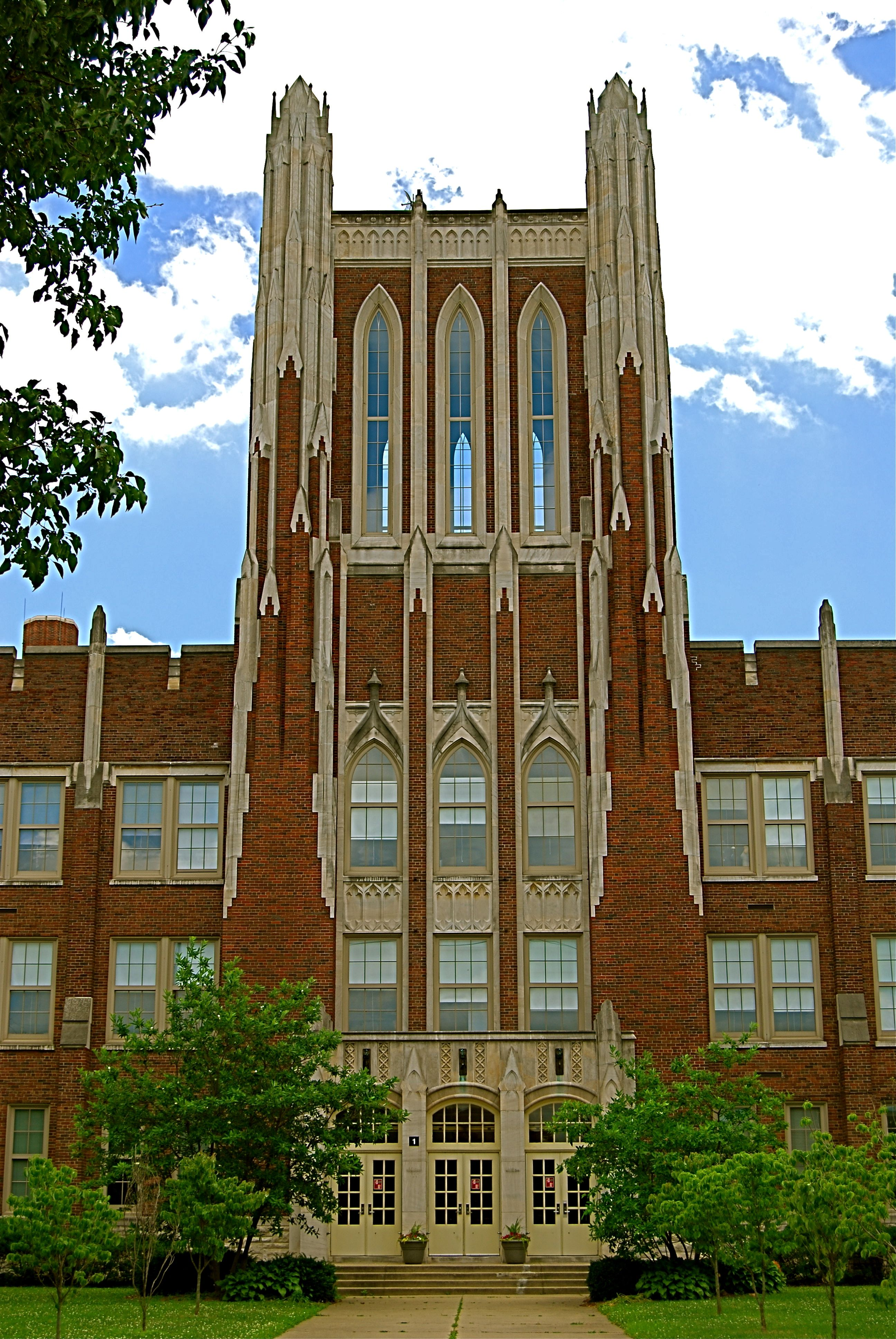 duPont Manual High School is a public magnet secondary school located in  the Old Louisville neighborhood of Louisville, Kentucky, USA and serving  students ...