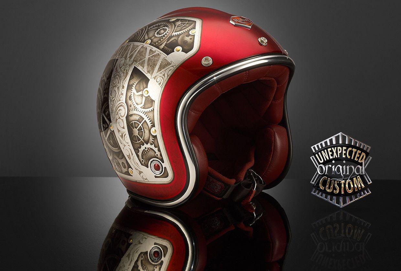 custom helmet Steampunk