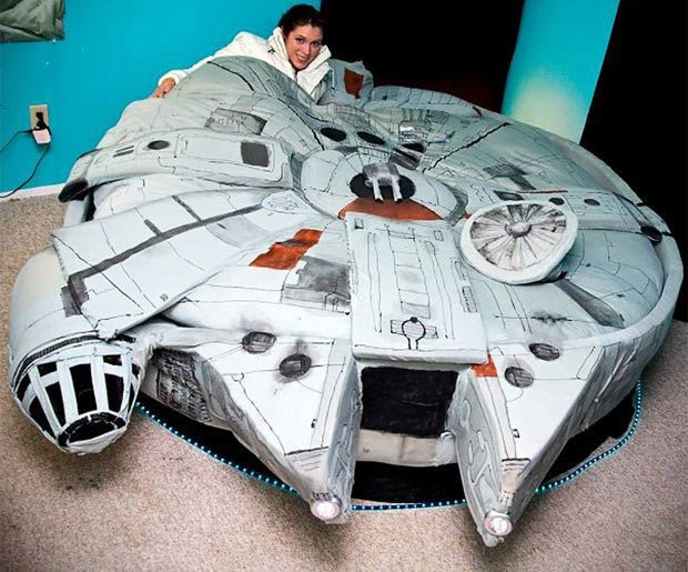 Millennium Falcon Bed Star Wars Bed Star Wars Furniture