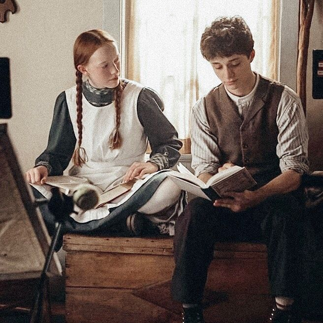 Pin By Amy Jade Duong On Anne Of Green Gables In 2020 Gilbert