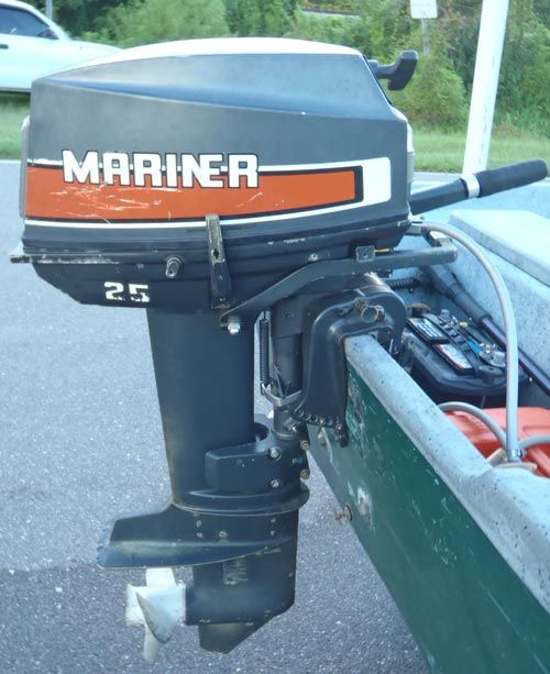 25 hp Mercury Mariner Outboard Boat Motor For Sale | 7 - Fix-It