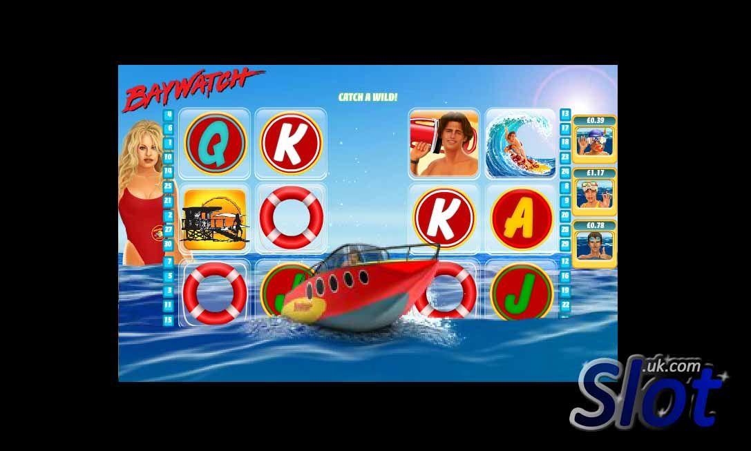 Beautiful Beachy No Download Fun in the Baywatch Slot