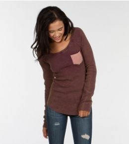 Dusty Thermal - Shop sale styles perfect for this season and next! #sustainable #organic #recycled #cotton #sale