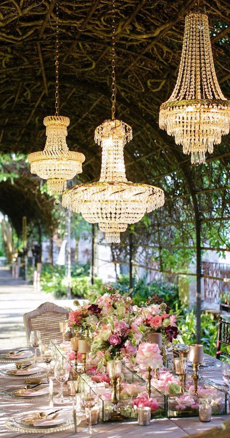 Pin by Didi Duvay on Garden Party Chandelier Louisiana