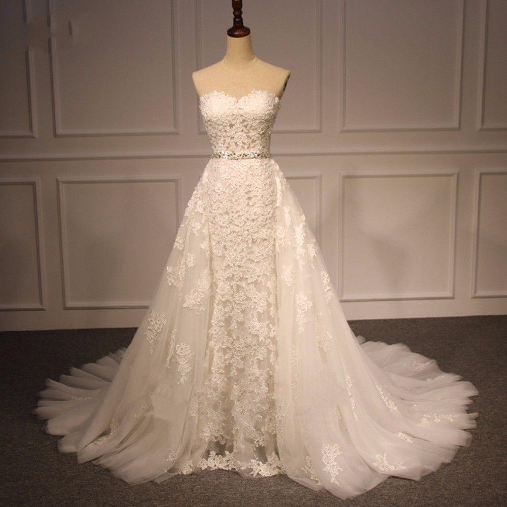 28++ Straight wedding dress no train ideas