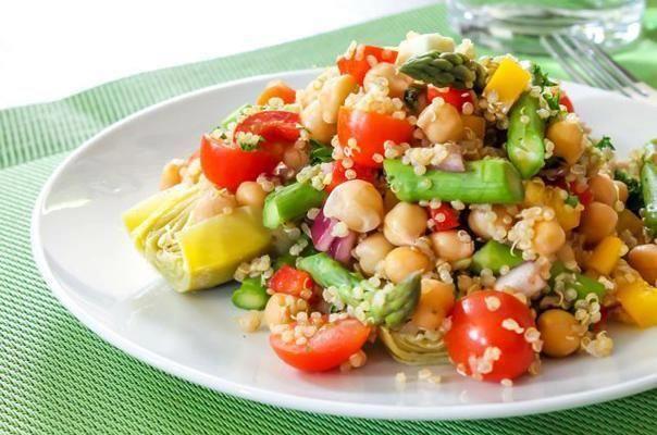 Just Cool Stuff~Pesto Quinoa Salad