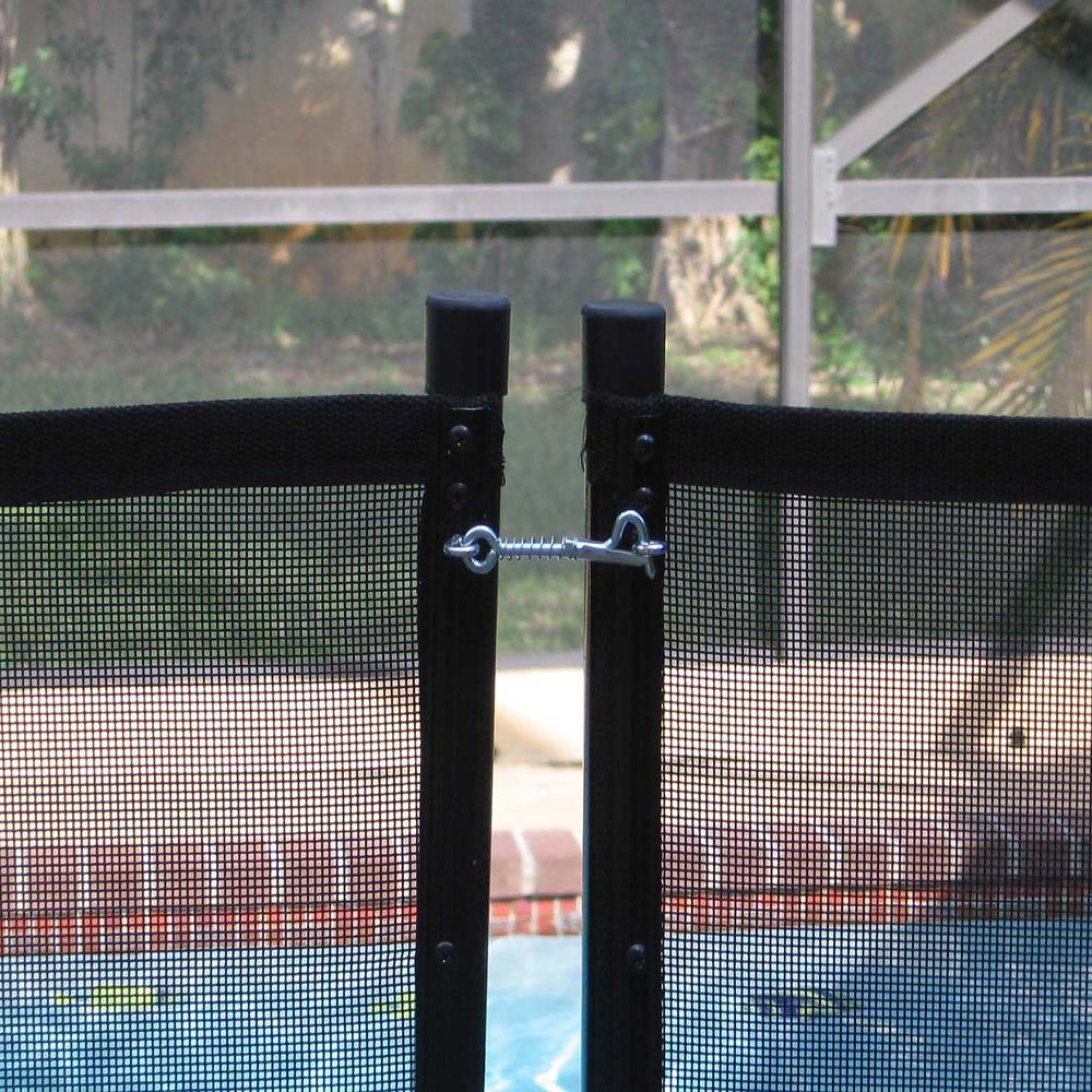 Pool Safety Fence Kit For In Ground Pools Pool Safety Fence Safety Fence