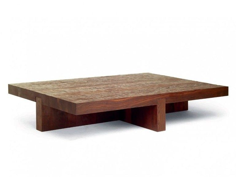 Low coffee table LOW TIDE by Linteloo design Roderick Vos home