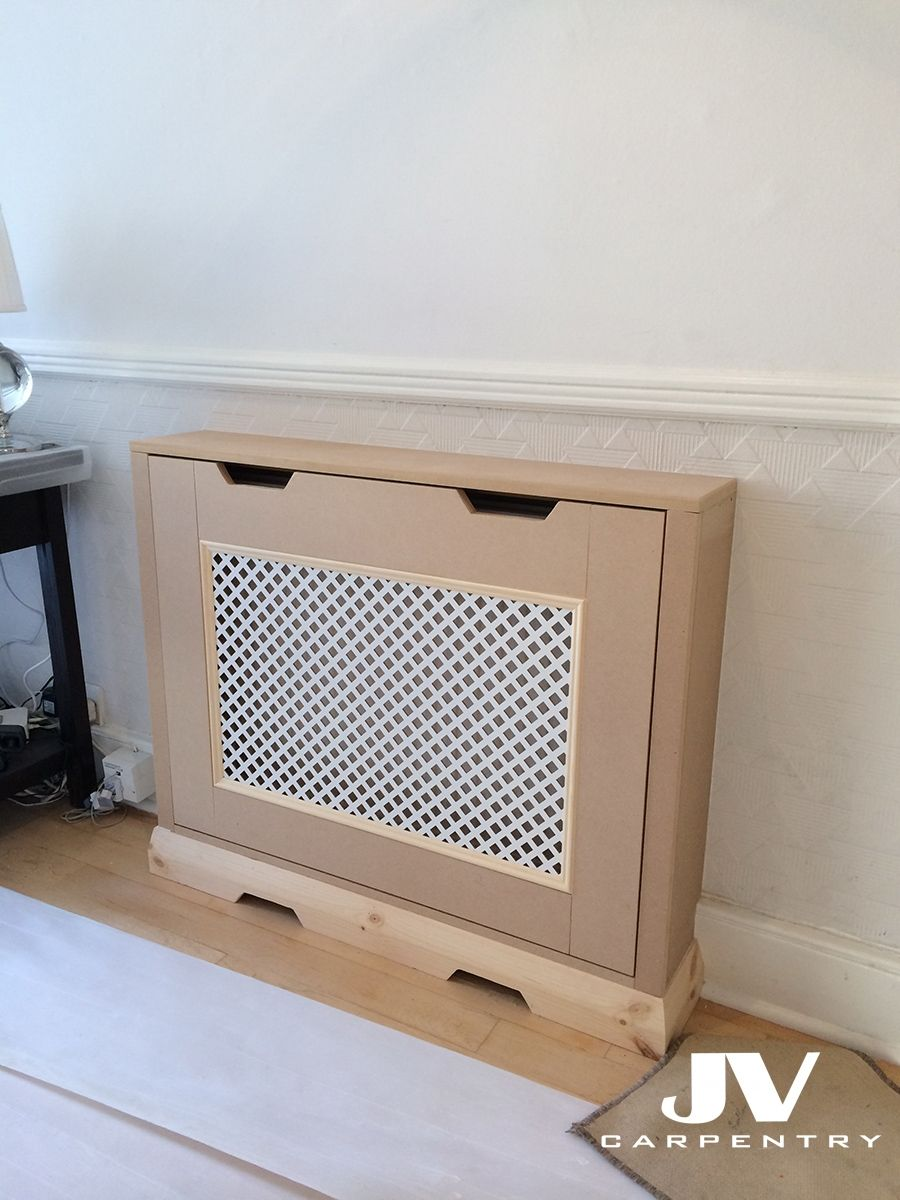 This Radiator Cover Hasn T Been Painted Yet This Bespoke Fitted