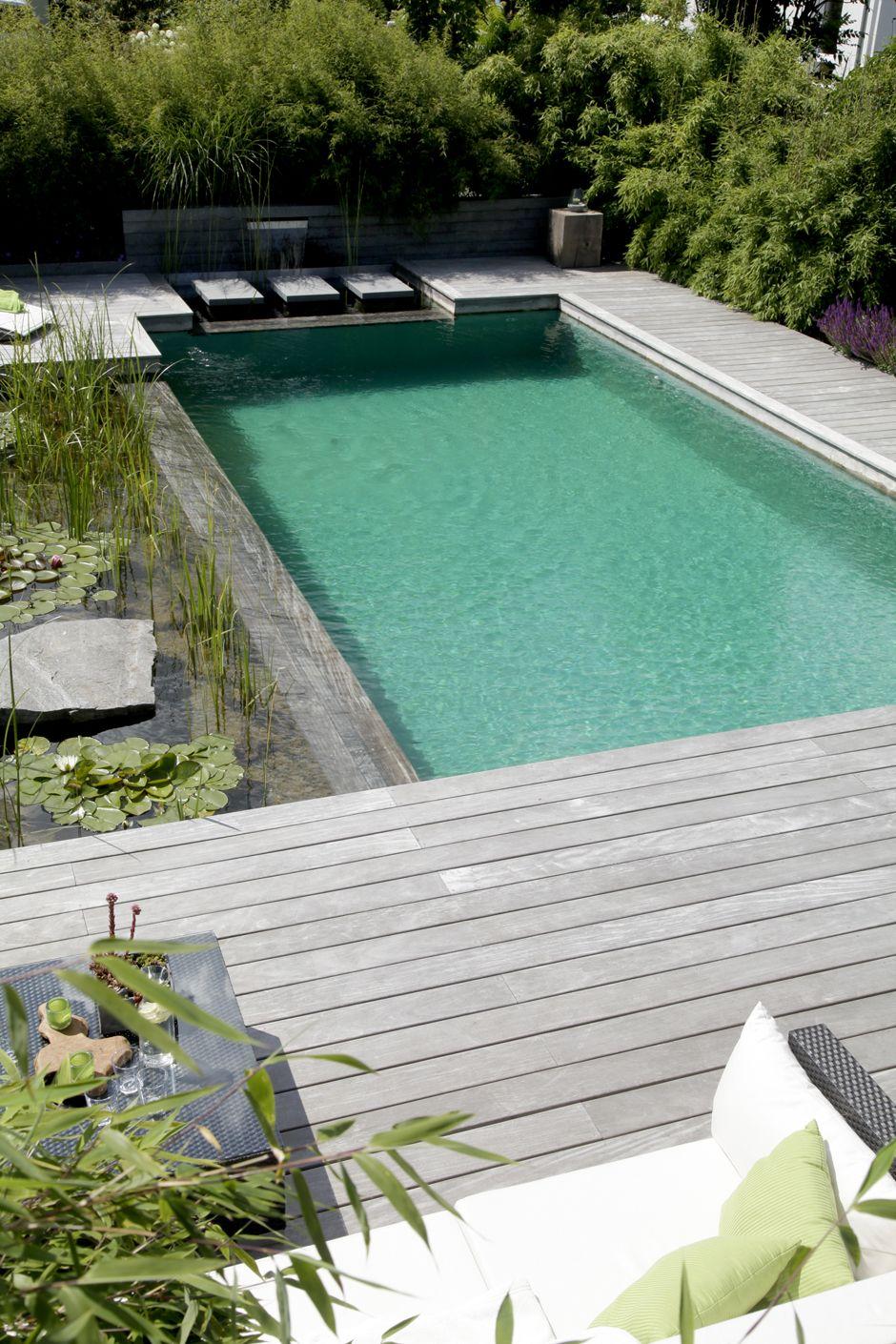 Schöner wohnen mit Schwimmteich | naturpools.de #schönerwohnen