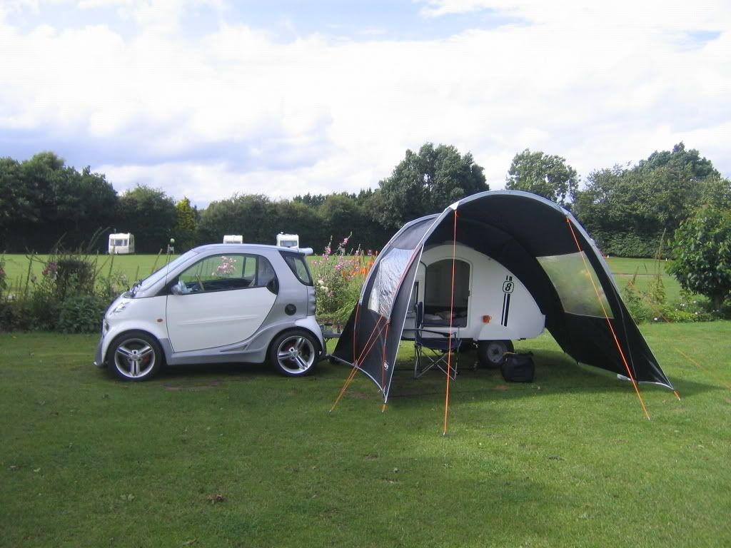 who else uses a teardrop trailer? - Smart Car of America ...