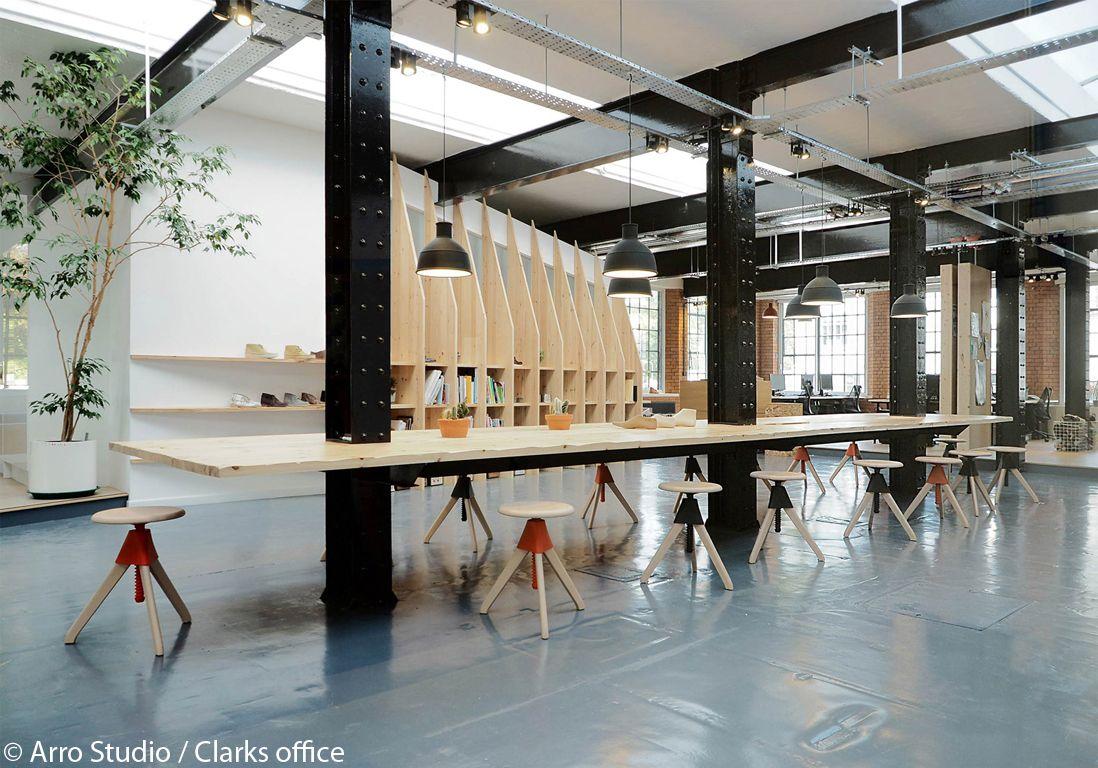 Nos 10 Bonnes Resolutions Deco Elle Decoration Design Espace Collaboratif Et Bureau Bois