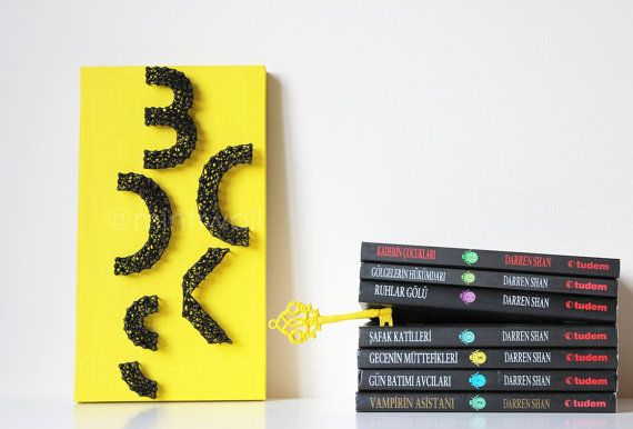 Books String Art Books Wall Decor Books String Wall Art Lettering ...
