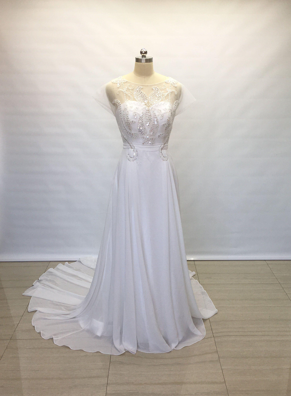 Champagne Rose Wedding Dress Ficts