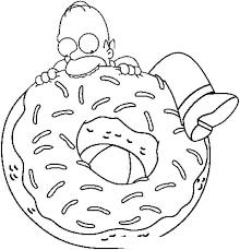 Resultado De Imagen Para Dibujos Homer Simpson Dibujos De