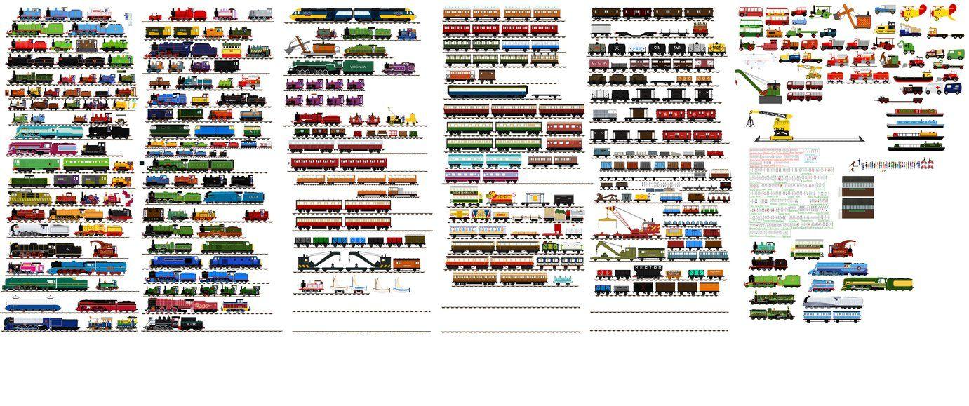 My Big A Sprite List By Cj The Creator Thomas And
