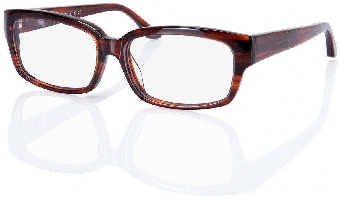Vollrandbrille Brooklyn Extravagante, hornfarbene Vollrandbrille aus ...