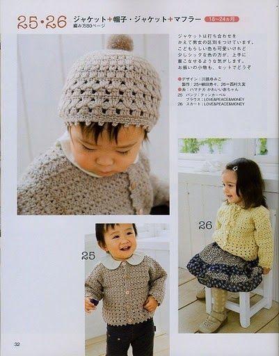 CARAMELO DE CROCHET: japanese beanies | hats | Pinterest