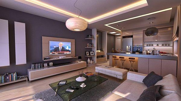 17 Bachelor Pad Decorating Ideas Modern Apartment Living Room
