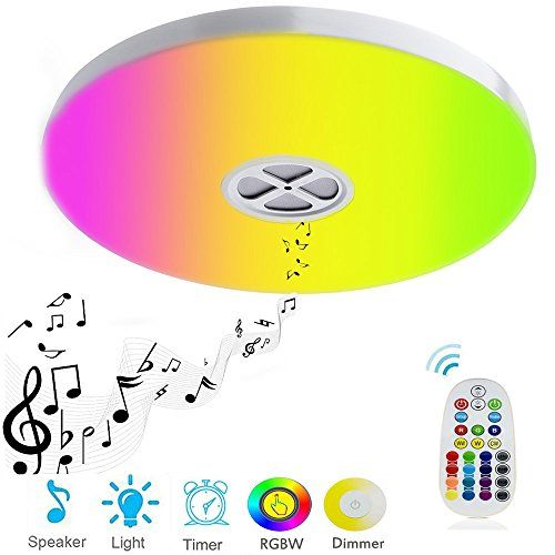 Huamai Ceiling Light 24w Smart Rgb Color Changing Dimmable With