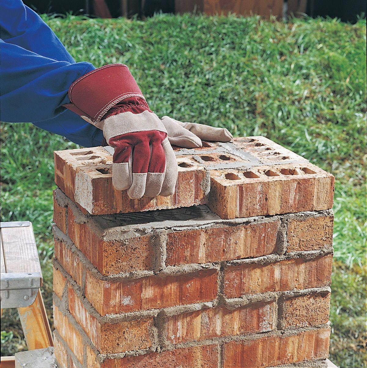 Building A House On Pillars : Pillar misc pinterest bricks