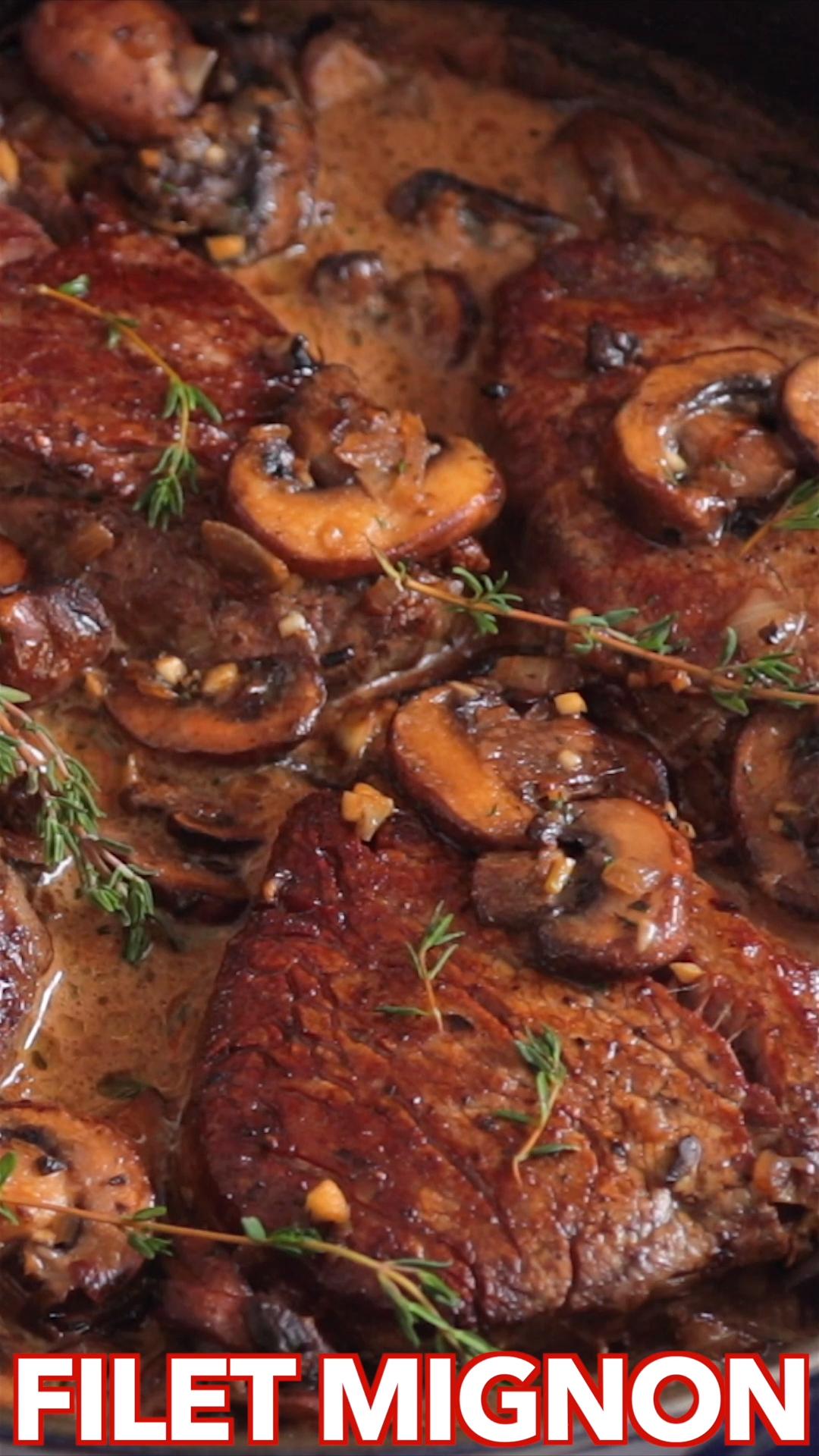 Filet Mignon Recipe #beefsteakrecipe