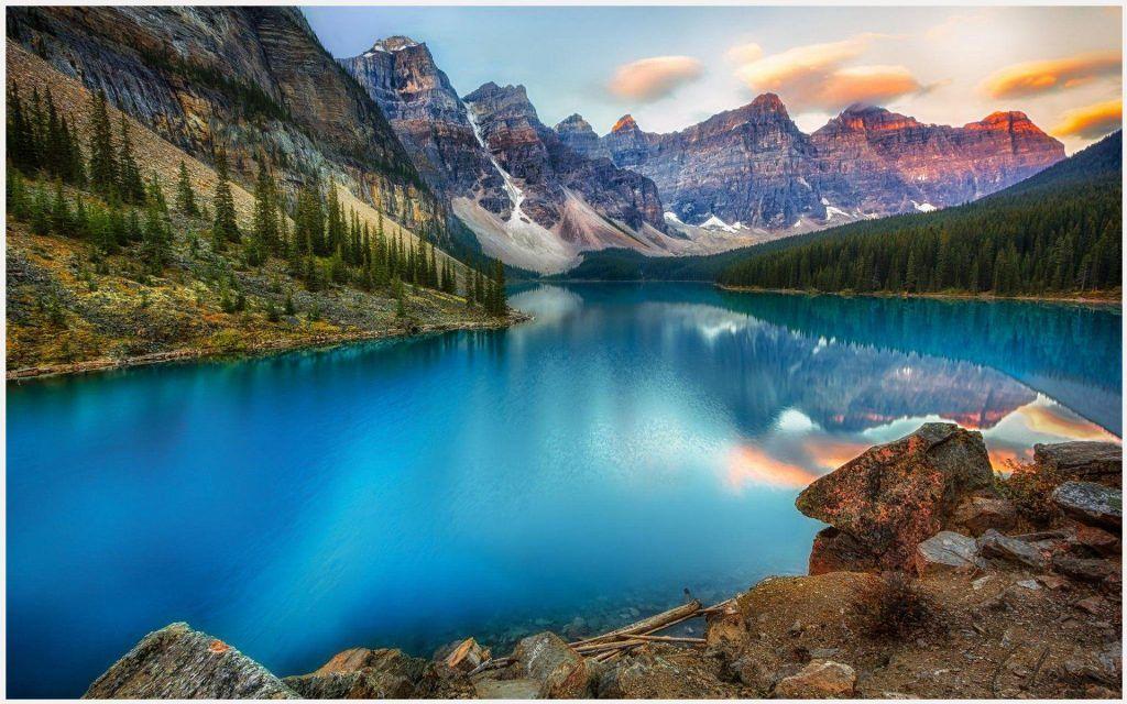 Canada Lake Beautiful Scenery Wallpaper Canada Lake Beautiful