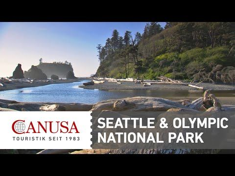 Video: Olympic National Park & Seattle in Washington | traveLink.