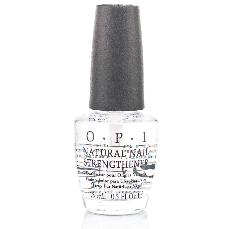 OPI Natural Nail Strengthener is one of the nail treatment products ...