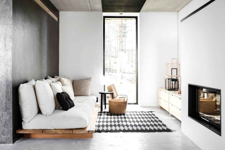 Sofás de pallets de madeira lindos e criativos móveis