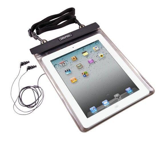 DRiPRO - D7 Etui étanche sport Tablette IPAD + écouteurs