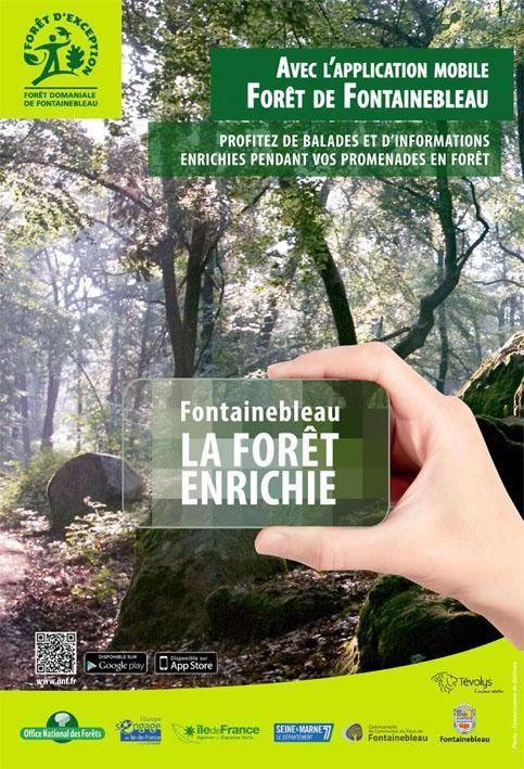 ÎLE-DE-FRANCE : Des parcours connectés en forêt de Fontainebleau