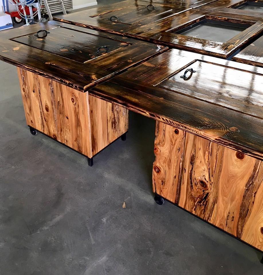 Rare Pecky Cypress Hibachi Grills Amazing Wood Add This Beauty