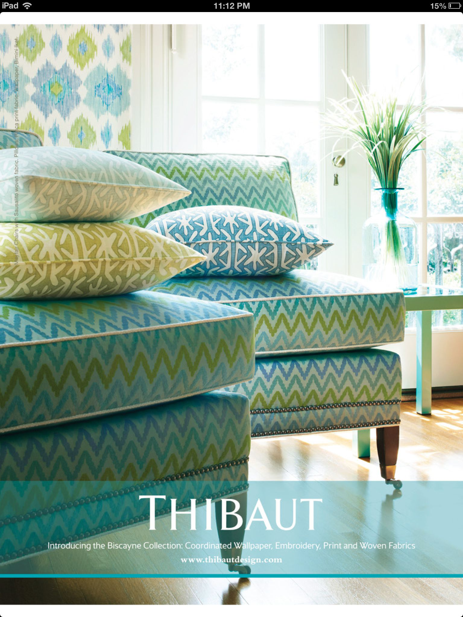 Colors of the tropics to brighten up home