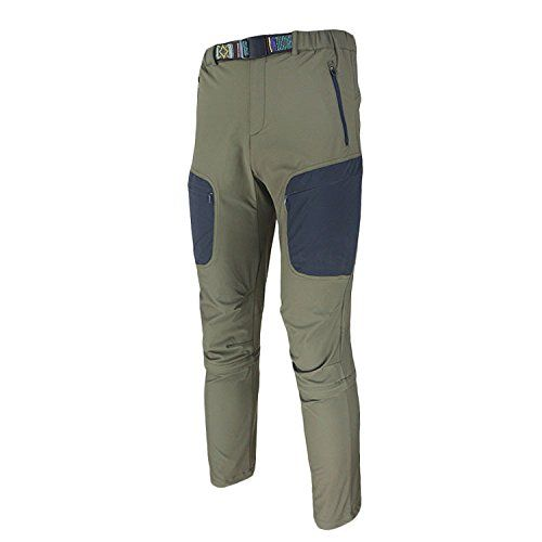 Spoz Men Leisure Camping Detachable Pants LX083 Army Green XXL -- To view further for this item, visit the image link.