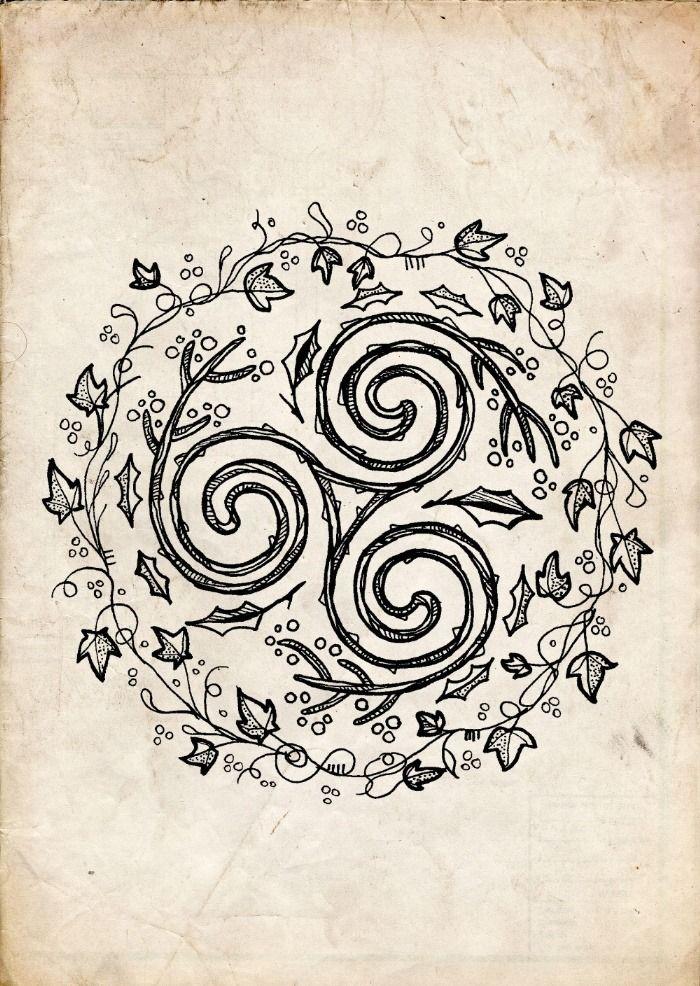 Iron Druid Fan Blog Celtic tattoos, Druid tattoo, Pagan