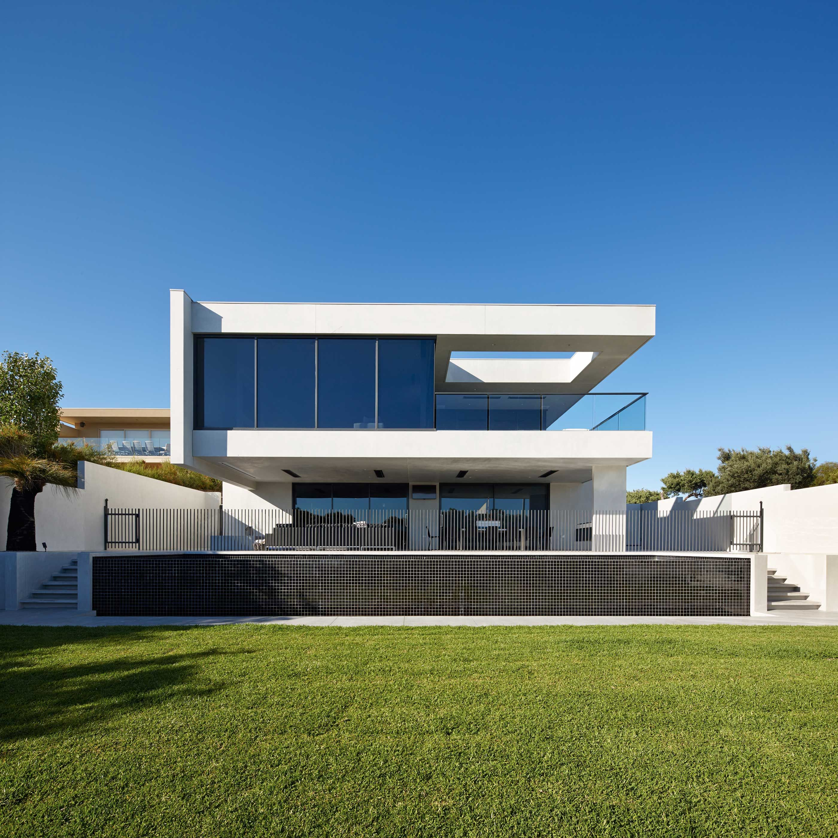 Pin By Mohamed O On Modern Villas: POINT NEPEAN This Impressive Five-bedroom House Was