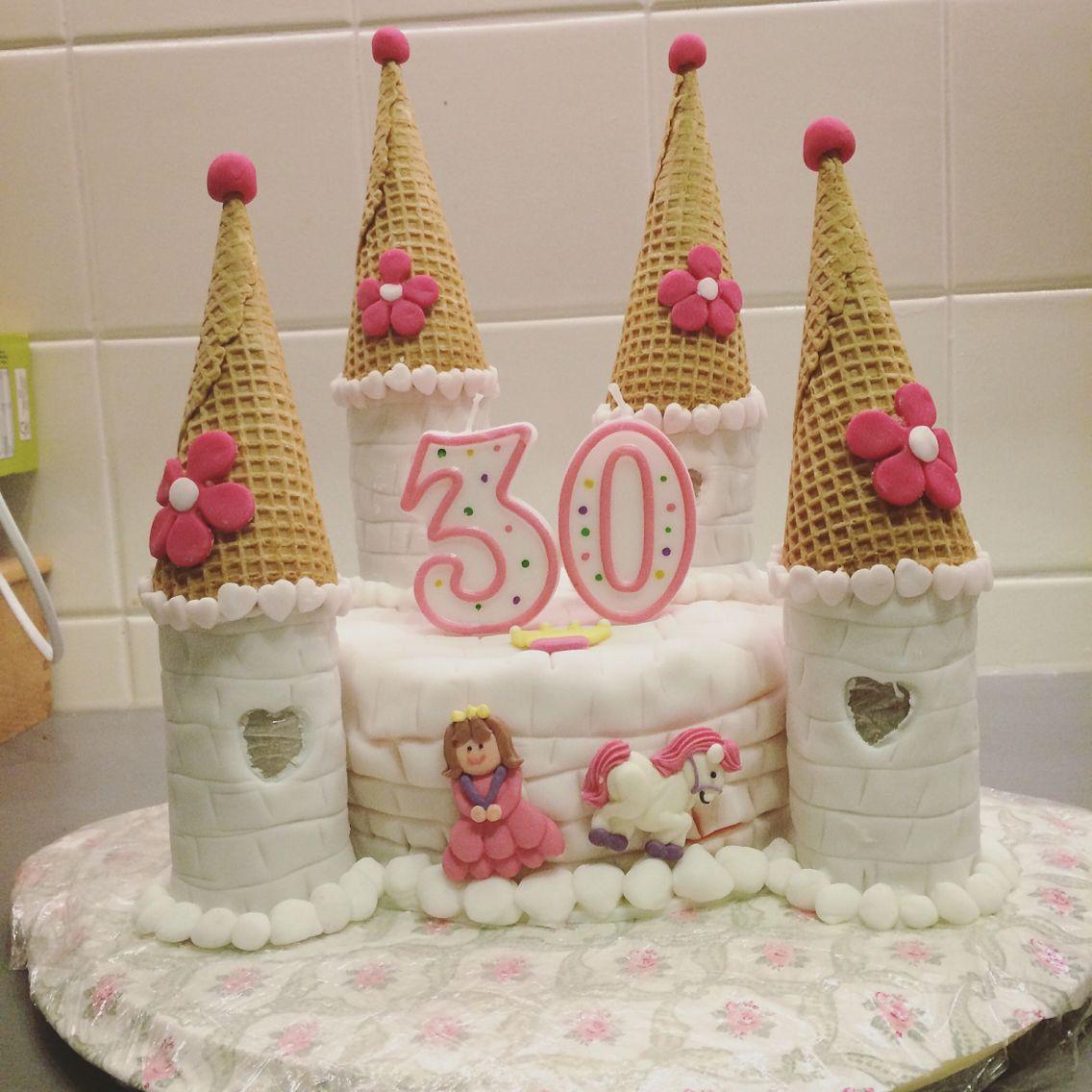 Prinzessin Schloss Torte Schloss Geburtstag Selfmade Cakes Barbie