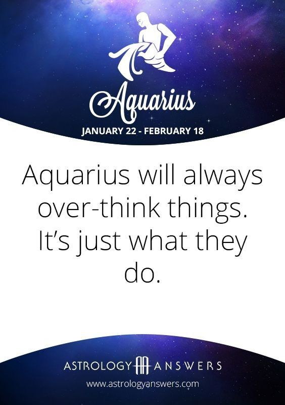 aquarius daily horoscope free will