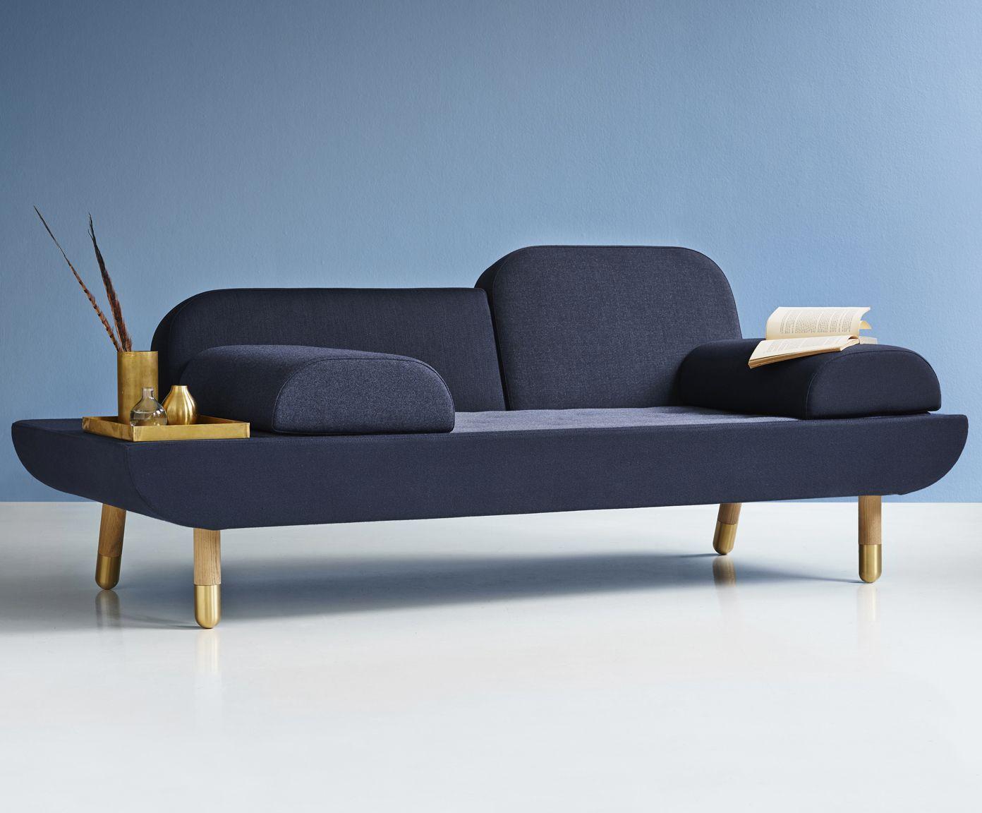 Sofa in Dunkelblau ERIK JØRGENSEN WestwingNow