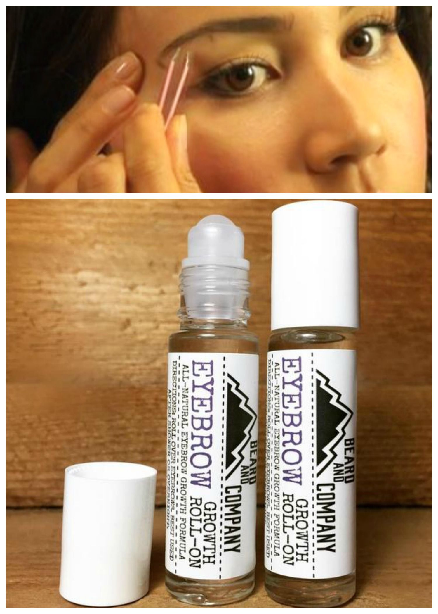 0773725553e Regrow your thin, over plucked, or over trimmed eyebrows with Beard and Company's  all-natural Eyebrow Growth Serum. Made in Colorado.