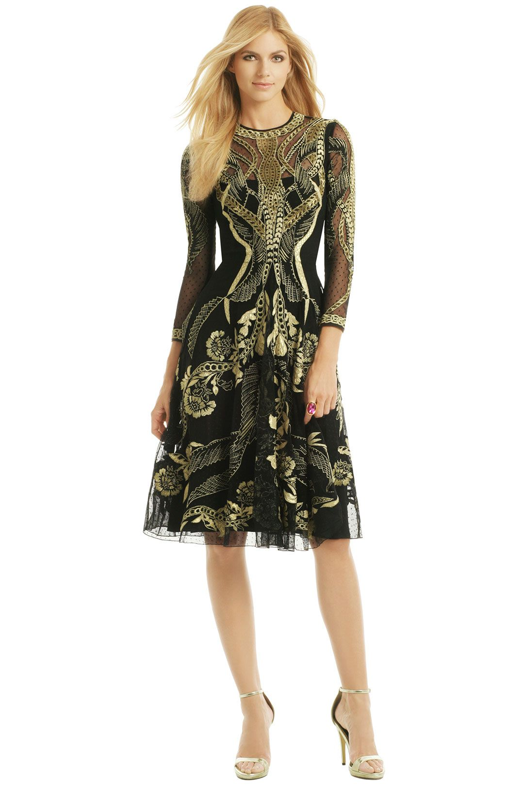 Golden Arc Dress | Dresses and Gowns | Pinterest | Temperley ...