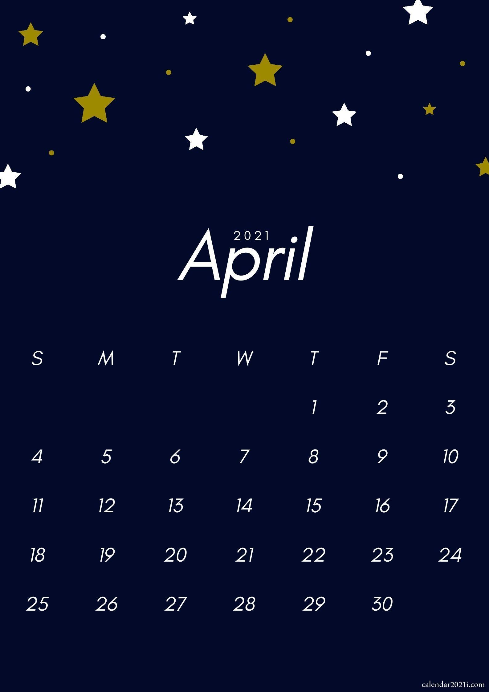 April 2021 Wallpaper Calendar iPhone April 2021 Calendar Wallpaper Free Download | Calendar