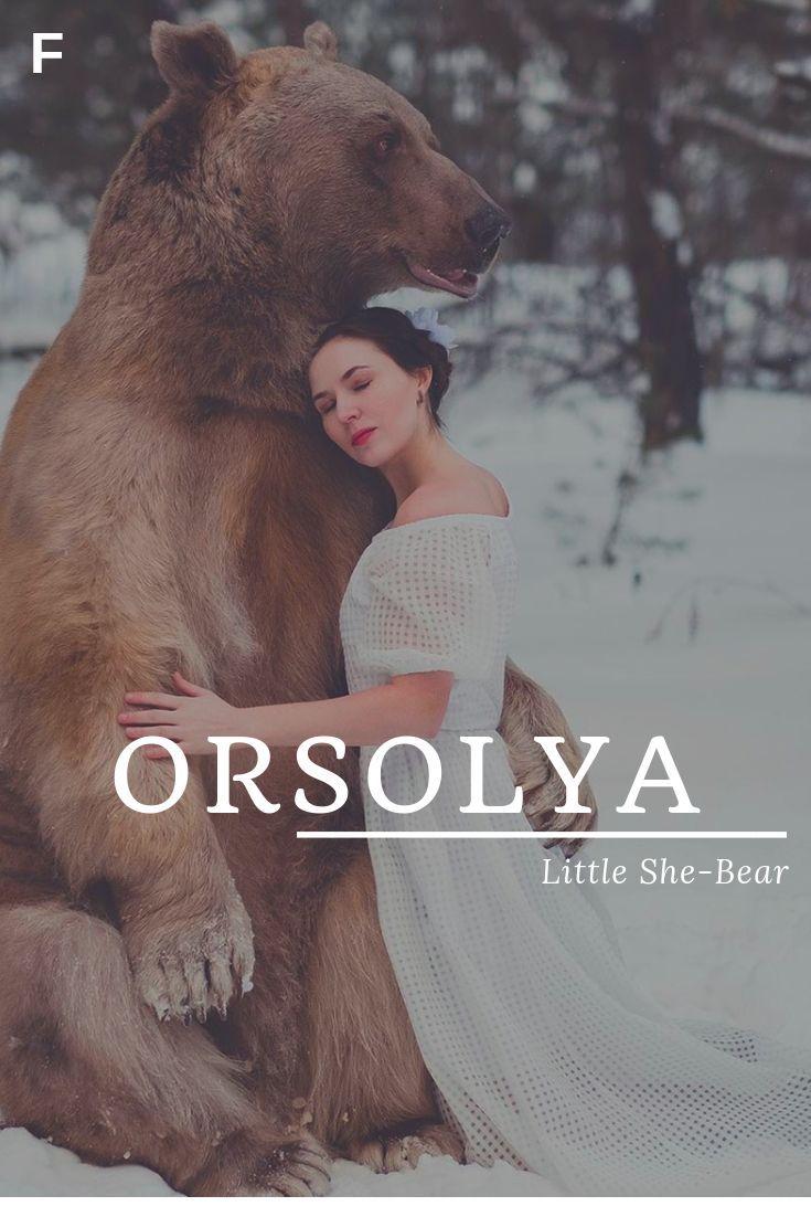 Orsolya meaning Little She-Bear Hungarian names O baby girl