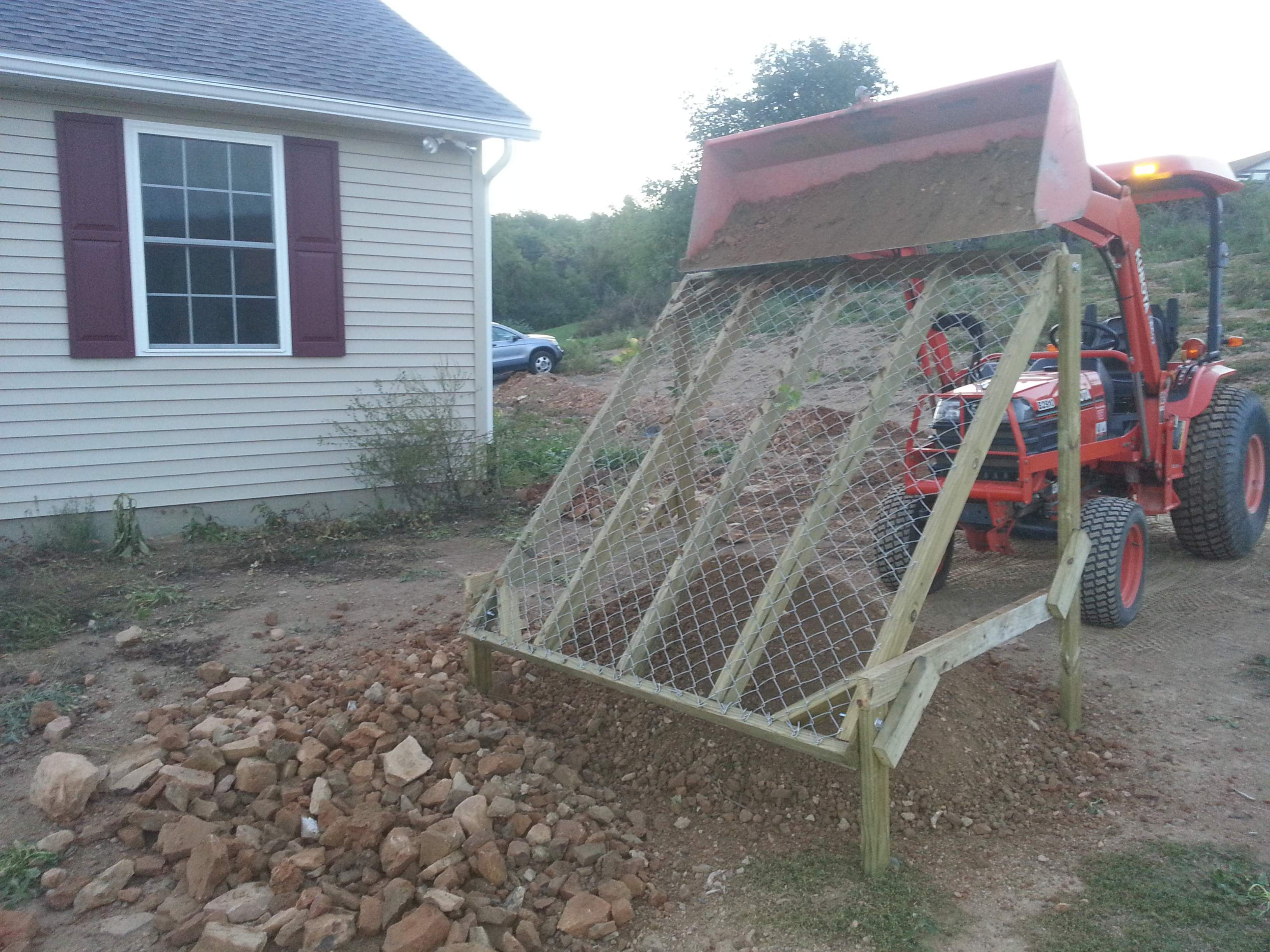 Pin By Cheryl Obrien On Rock Sifter In 2019 Tractor