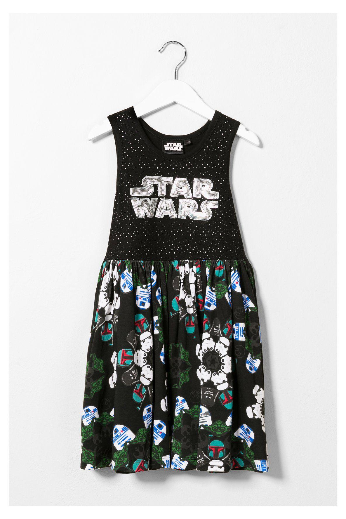 Vestido de tirantes Star Wars Desigual. ¡Descubre la colección primavera-verano 2016!