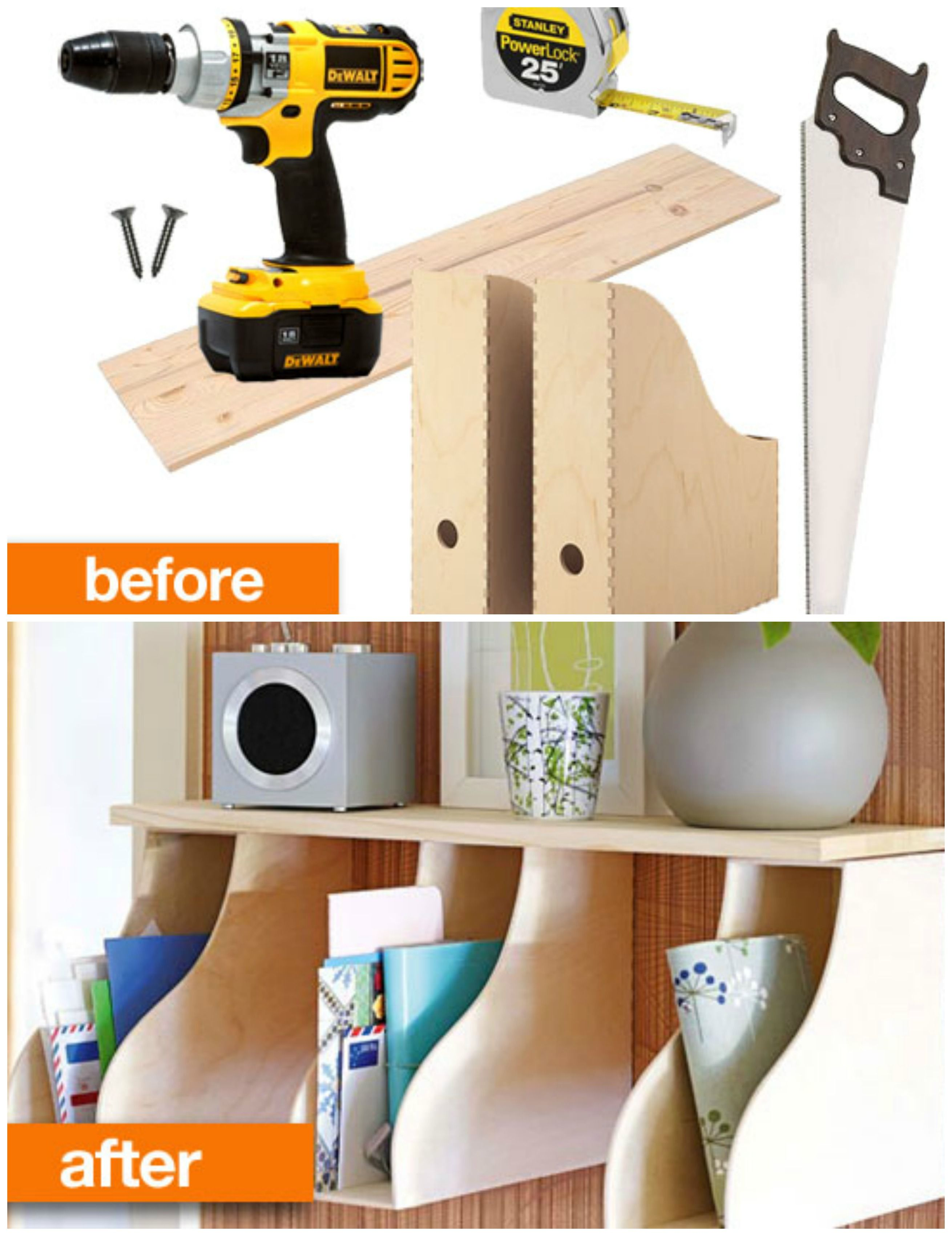 Kinderzimmer Aufbewahrung Ideen Before And After The Diy Ikea Office Organizer In 2019