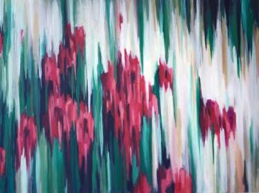 "Saatchi Art Artist Jovana Petrovic; Painting, ""Secret Garden"" #art"